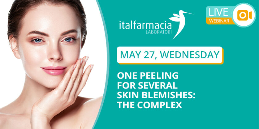 WEBINAR 6 – ONE PEELING FOR SEVERAL SKIN BLEMISHES: THE COMPLEX (SAVE THE DATE)