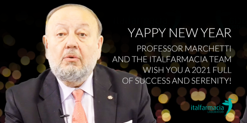 Happy new year from Professor Marchetti and Italfarmacia Team