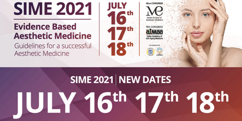 JULY 16 – 17 – 18  |  SIME CONGRESS 2021